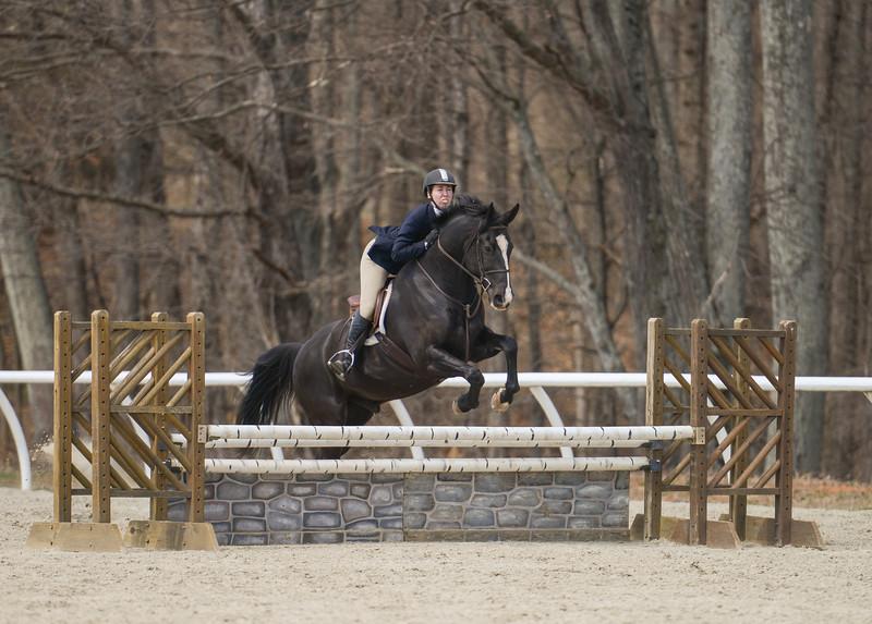 Rider: Katie Cartwright<br /> Horse: Echo<br /> School: Sweet Briar College
