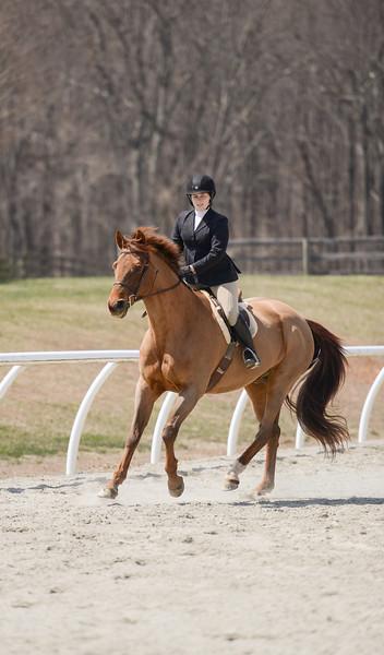 Rider: Kathleen Drake<br /> Horse: Oh So Fine<br /> School: Sweet Briar College