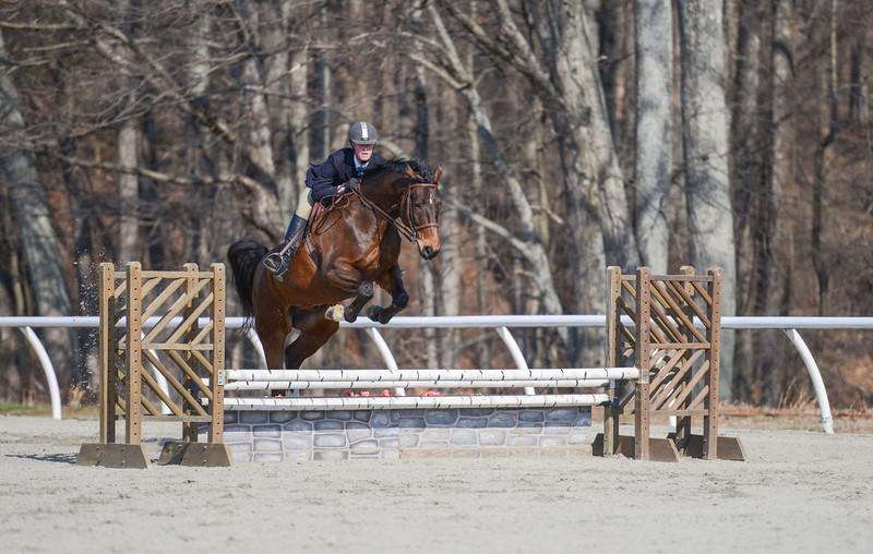 Rider: Zachary Hinch<br /> Horse: Sharp Dressed Man<br /> School: Bridgewater College
