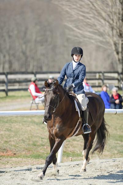 Rider: Alison Hornbaker<br /> Horse: Bottega<br /> School: Sweet Briar College