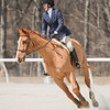 Rider: Elizabeth Hansbrough<br /> Horse: Love Z<br /> School: Sweet Briar College