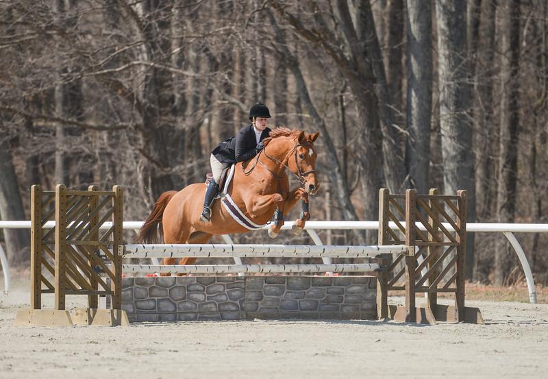 Rider: Kayla Deyarmin<br /> Horse: Diamond Dutches<br /> School: Bridgewater College