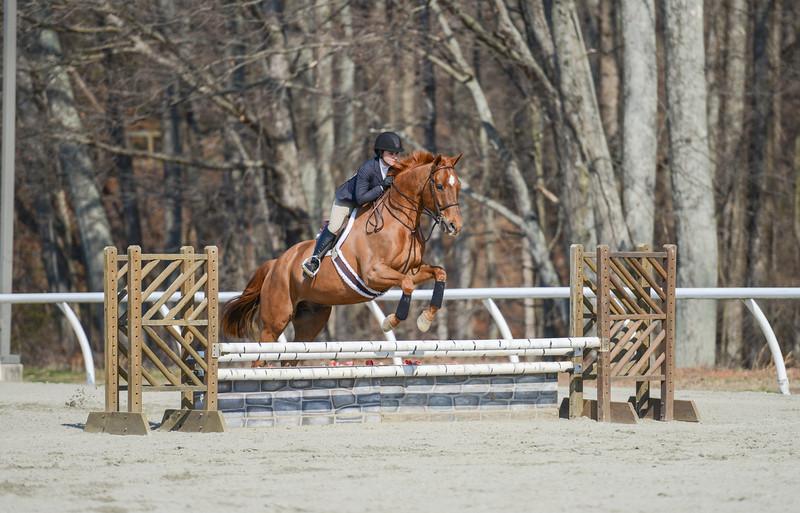 Rider: Emmy Rhodes<br /> Horse: Moonshine<br /> School: Bridgewater College