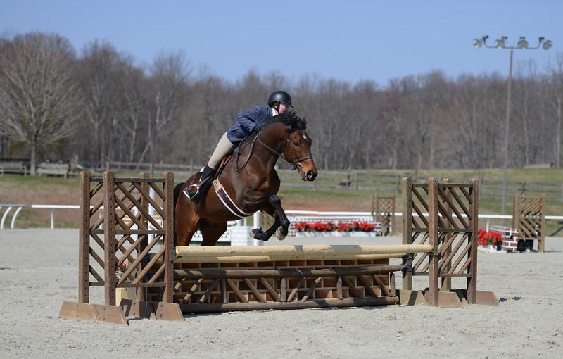 Rider: Kaylyn Sawyer<br /> Horse: Simon<br /> School: Sweet Briar College
