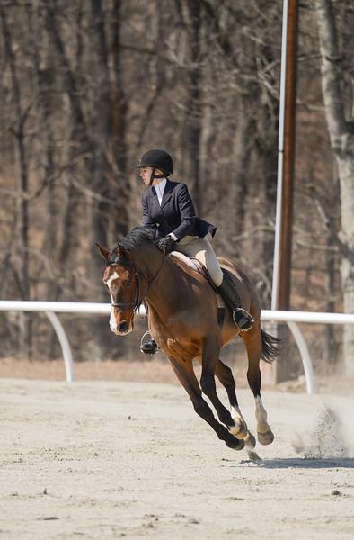 Rider: Kathryne Richard<br /> Horse: Hattrick<br /> School: Sweet Briar College