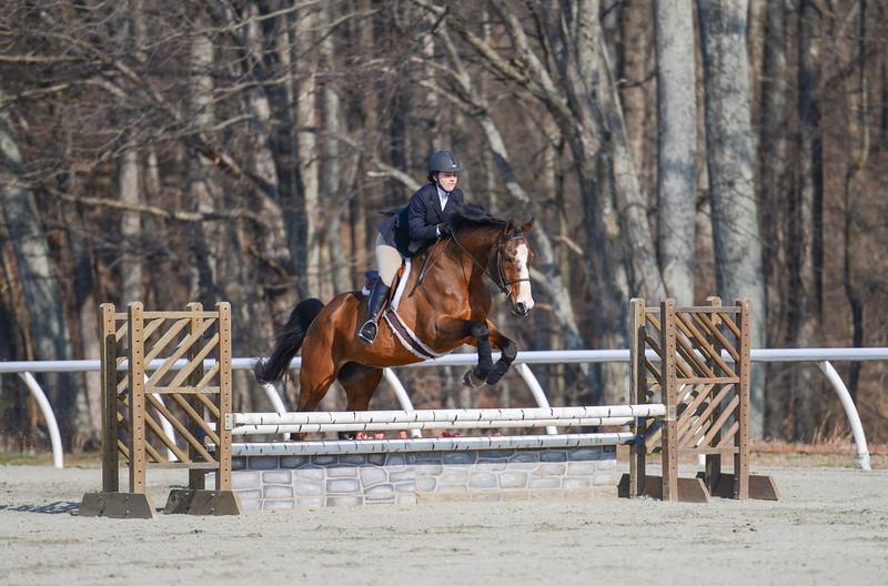 Rider: Alyssa Everett<br /> Horse: Da Vinci<br /> School: Randolph College