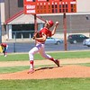 Westview's Micah Miller delivers a pitch during Saturday's Class 2A Sectional 35 semifinals against Fairfield at Westview High School in Topeka.