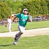 Concord's Griffin Swartout rounds third base and heads for home during Friday's game against Goshen at Goshen High School.