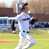 NorthWood senior Jacob Raasch (2) sprints out a grounder early in Friday's game against Fairfield at NorthWood High School in Nappanee.