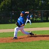 Bethany's Tyson Chupp pitches from the mound against Fremont on Friday at Bethany Christian Schools in Goshen.