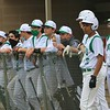 The Concord Minutemen look on from the dugout on Tuesday at Concord High School in Elkhart.