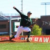 Wawasee's Ty Brooks pitches for the Warriors early in Friday's game against Goshen at Goshen High School.