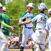 Wawasee players celebrate as they leave the field during Saturday's Class 3A Regional semifinal against Norwell at Bellmont High School in Decatur.