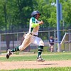 Wawasee's Kameron Salazar rounds third base during the first inning of Saturday's Class 3A Regional semifinal against Norwell at Bellmont High School in Decatur.