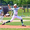 Wawasee's Grant Brooks throws a pitch toward home plate during Saturday's Class 3A Regional semifinal against Norwell at Bellmont High School in Decatur.