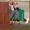 SAM HOUSEHOLDER | THE GOSHEN NEWS<br /> Goshen senior Jack Gingerich (10) and sophomore C.J. Detweiler celebrate at the end of an inning during the game against Wawasee Friday.