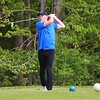 Lakeland's Tommy Curtis tees off during Saturday's Concord Invitational at Bent Oak Golf Club in Elkhart.