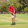 Goshen's Cam Schneider putts during Saturday's Concord Golf Invitational at Bent Oak Golf Club in Elkhart.