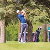 NorthWood's Cooper Wiens tees off during Saturday's Concord Invitational at Bent Oak Golf Club in Elkhart.