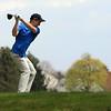 Lakeland sophomore Ben Keil drives the ball during the Goshen Invitational Saturday.