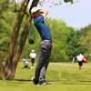 NorthWood's Earl Williams tees off during Saturday's NLC Championship Invitational at Bent Oak Golf Club in Elkhart.