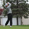 STEPHEN BROOKS   THE GOSHEN NEWS<br /> Wawasee golfer Jeffery Moore tees off on the seventh hole at South Shore Golf Club on Saturday in the Wawasee golf invitational.