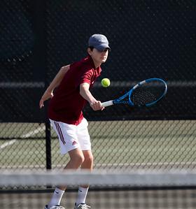 Boys' JV Tennis v Deerfield
