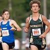 Wawasee Camden Powell (961) runs during Thursday's sectional at Goshen High School in Goshen.