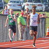 Concord junior Jaton Thomas (183) sprints down the straightaway during the 200-meter dash prelims at the IHSAA state boys track and field finals Friday at Ben Davis High School in Indianapolis.