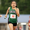 Concord's Stephany Claudio (44) runs during Tuesdays Tuesday's regional at Goshen High School.
