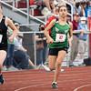 Concord's Samia Latif (47) runs during Tuesday's regional at Goshen High School.