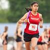 Goshen's Nataly Esqueda (111) competes during Tuesday's regional at Goshen High School.
