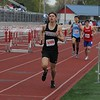NorthWood's Grady Stevenson competes in the Class B 4x800-meter relay event at the Goshen Relays Saturday.
