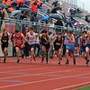 Runners get started at the beginning of the Class A distance medley relay during the Goshen Relays on Saturday at Goshen High School.