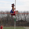 West Noble's Chris Miller clears the bar during a pole vault event Tuesday at Wawasee High School in Syracuse. West Noble swept Wawasee in boys and girls track competition.