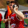 JAY YOUNG | THE GOSHEN NEWS<br /> Goshen's Thomas Heim competes in the shot put event during the 75th running of the Goshen Relays Saturday at Goshen High School.