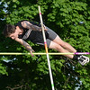 HALEY WARD | THE GOSHEN NEWS<br /> NorthWood junior Austin Shapland competes in the pole vault on Thursday during the Goshen Sectionals.
