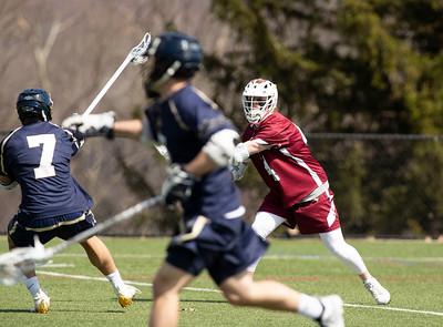 Boys' Varsity Lacrosse v Navy Prep