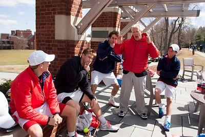 Boys' Varsity Tennis vs Deerfield