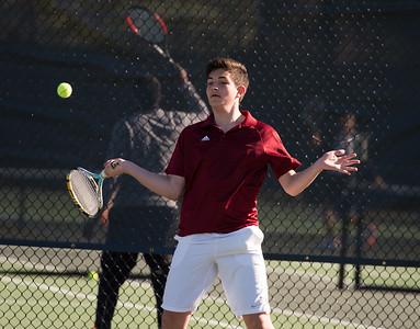 Boys' Varsity Tennis v Andover