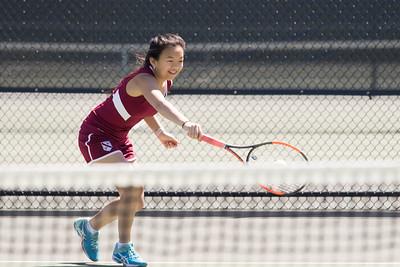 Girls' Thirds Tennis v Choate