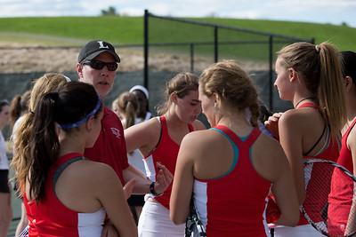 Girls Varsity Tennis vs Greenwich Academy