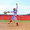 Westview's Alexys Antal pitches from the circle during Saturday's Class 2A Sectional 35 final against Fairfield at Westview High School in Topeka.