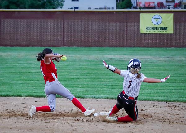 West Noble vs Northwood HS Girls Sectional Softball