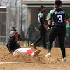 Westview junior Savanna Strater slides into third base in the first inning of the Warriors' game against Wawasee Saturday in Topeka.