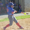 HALEY WARD | THE GOSHEN NEWS<br /> West Noble junior Makenna Taylor bats during the sectional game against Wawasee on Monday at Fairfield High School.