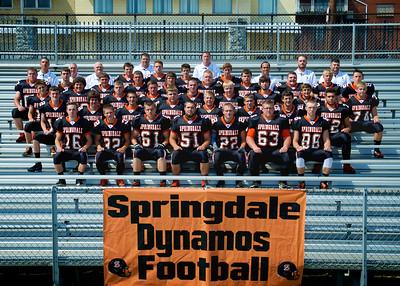 Springdale Dynamos Football 2015