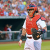 Yadier Molina on his second rehab outing before heading back to St Louis.  5 for 6 over two days.