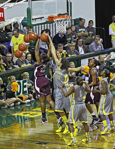 A great blocked shot against A&M by Brittney Griner.