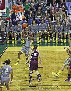 Kimetria Hayden #1 for Baylor makes a nice lay-up against A&M in Waco on Feb. 11.